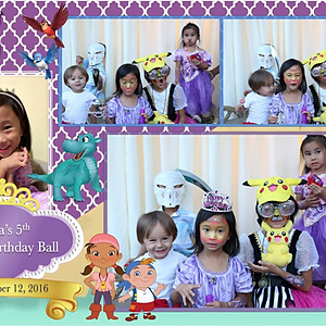 Eliza's 5th Royal Birthday Ball