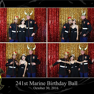 241st Marine Corps Birthday Ball- Open Air Booth
