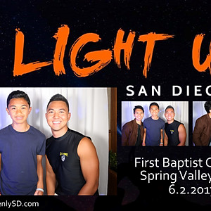 Light Up SD Youth Rally Photo Booth