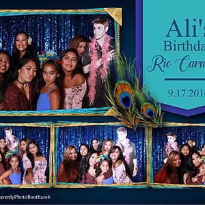 Ali's Birthday Rio Carnivale