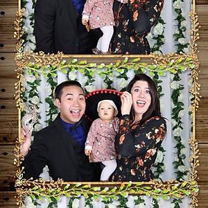 Julian & Shasha's Wedding Photo Booth
