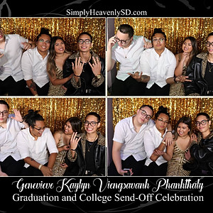 Genevieve's Graduation and College Send-Off Photo Booth