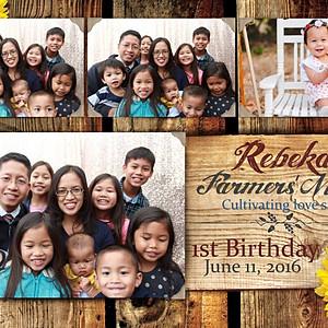 Rebekah Cunanan's 1st Birthday