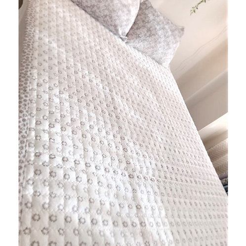 Little Garden Premium Mink Touch Mattress Pad_Queen_극세사 패드