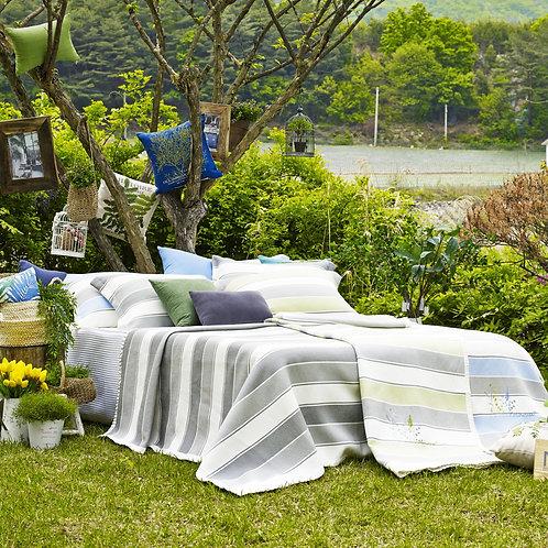 100% Korean Art Silk Blanket 4pc Full set