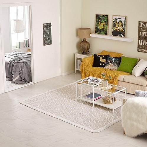 100% Natural Cotton Floor Rug & Mattress Pad