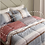 Thumbnail: Lorencia_Pink Soft Silky Touch Micomodal Queen Comforter 3pc Set