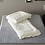 Thumbnail: Premium Real Fur Touch Micromink Comforter Set_Ivory