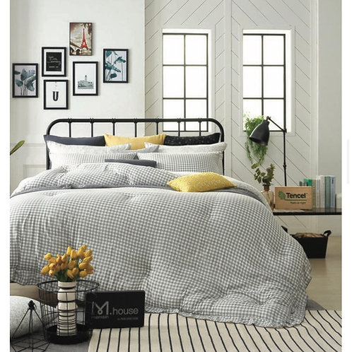[Premium] 100% Tencel Modal Comforter Set_Grey