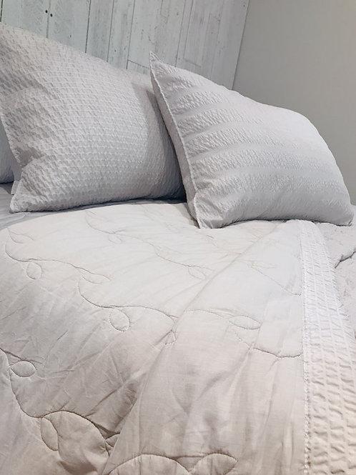 New Summer Pigment Washing Comforter Set_ Grey_Single/Twin