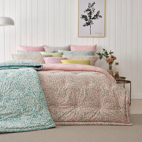 Spring Garden Bio Washing 100% Cotton Comforter Set