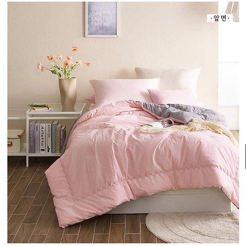 100% High Density Cotton Comforter_Pink
