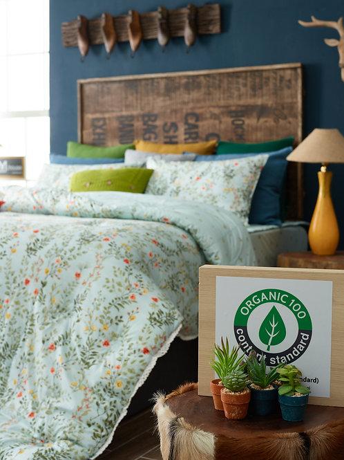 [ORGANIC Cotton] Mint Comforter Set_Queen