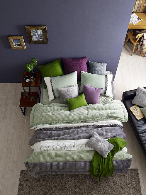 Green Mink touch microfiber Comforter Set