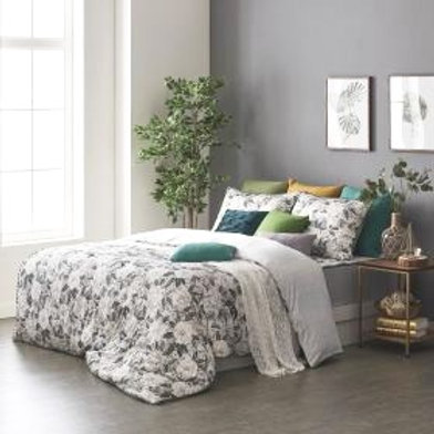 Pure Flower Soft Silky Touch Micromodal Comforter Set_Queen