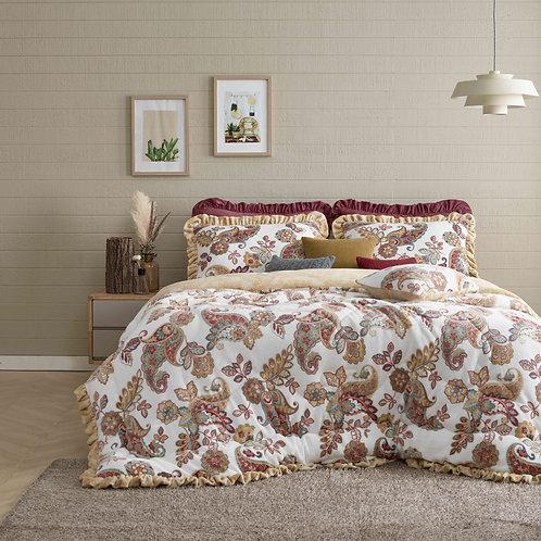 Paisley Premium Mink touch Comforter_Queen