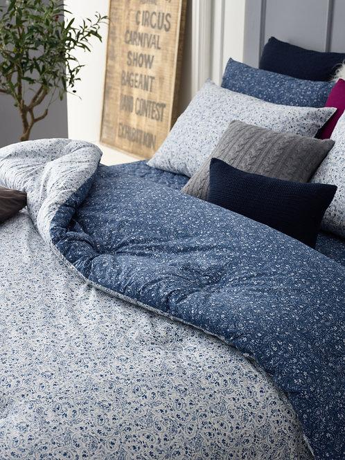 [ORGANIC Cotton] Navy Comforter Set_Twin/Single