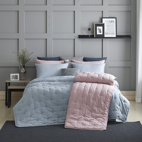 Thames Anti Mite Semi-Microfiber Washing Comforter Set