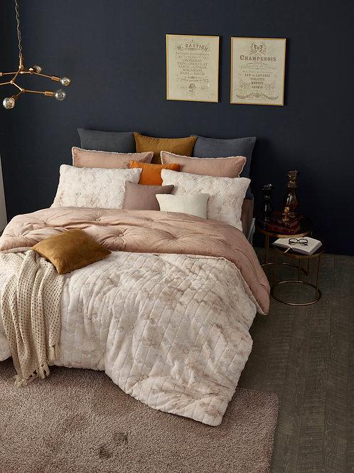 Real Mink Touch Premium Micro-mink Comforter Set