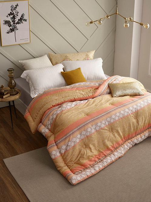 Sky Gold Silky Mirco-modal Queen Comforter