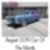 august car of the month
