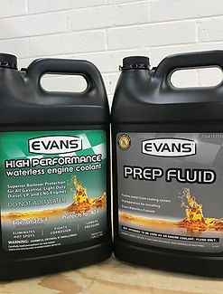 Evans Coolant and Prep Fluid