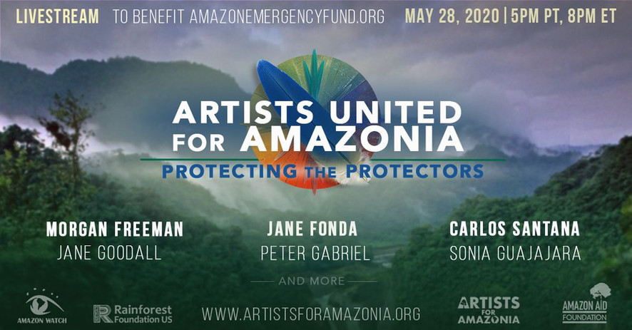 Artists United For Amazonia Livestream