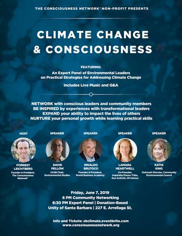 Consciousness Network - Environmental Event 2018