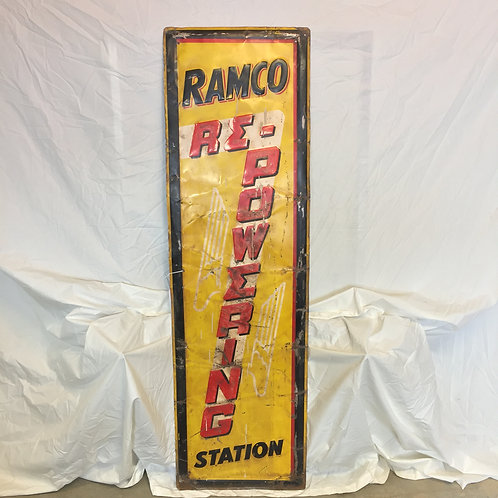 Ramco Re-Powering Painted Sign (Oversize)