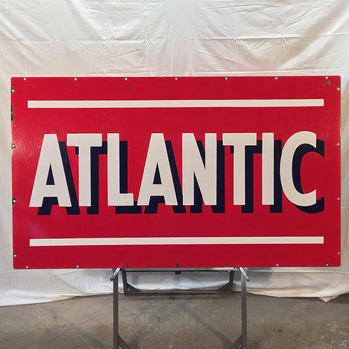 Atlantic Porcelain Sign (Oversize)
