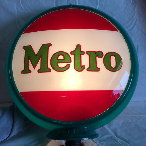 Metro Gasoline Globe