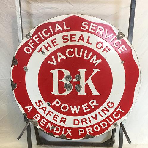 Bendix Brake Porcelain Sign (Oversize)