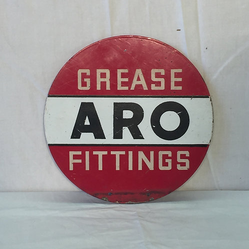 ARO Grease Painted Sign