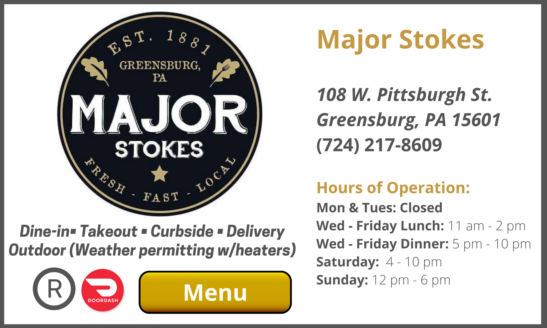 Major Stokes