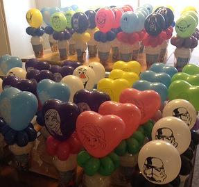 Balloon Candy Cup