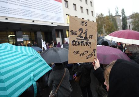 Three historic women's strikes preceding the Women's March, for VICE NEWS