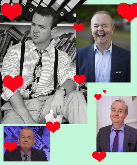My crush on Ian Hislop, for Refinery29