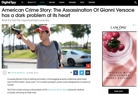 The Assassination of Gianni Versace, for Digital Spy