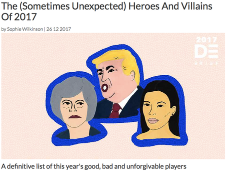 The good, bad and deplorable of 2017, for The Debrief
