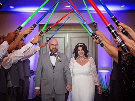 Ouellet's May the 4th wedding