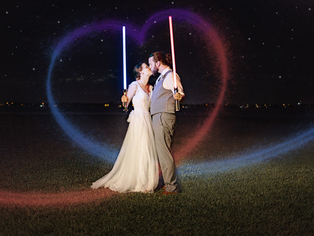 Sherman Wedding: May the 4th be with you