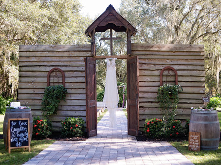 Arcadia, FL: Barn Wedding