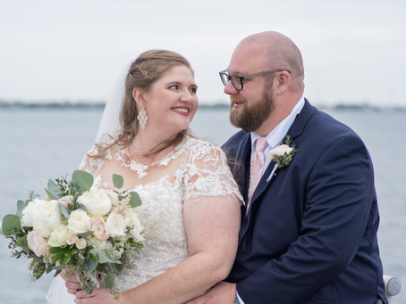 Stacy and Ryan's Port Charlotte church wedding