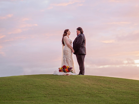 North Port, FL: Fall inspired wedding
