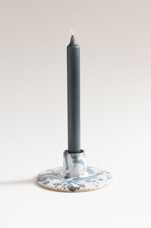 splatter candle holder