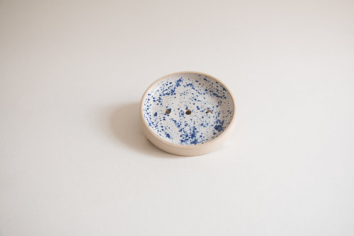 speckled soap dish