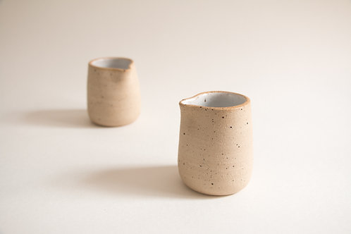 white & nude mylk jug