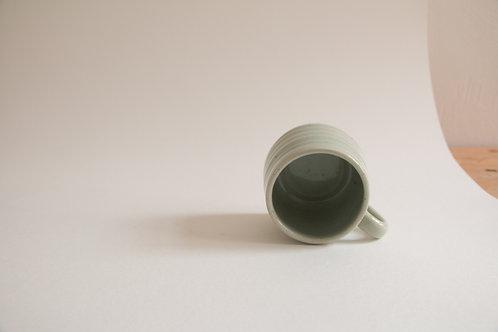 celadon green mugs