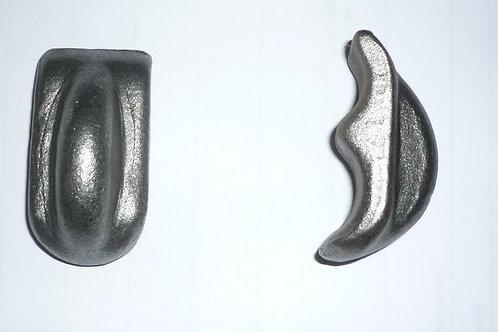 Levetta tipo roccia corta (C/part.stamp.c/nerv) cod. 9139