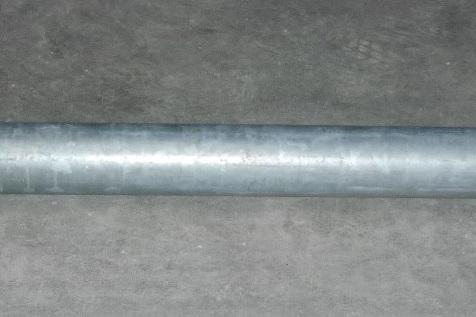 Tubo di aspirazione con raccordo per tubo in gomma